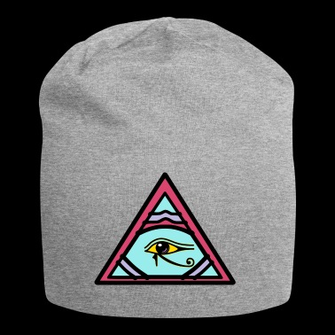 Illuminati Eye of Horus idée cadeau - Bonnet en jersey