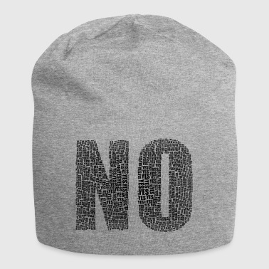 No Yes - Jersey Beanie