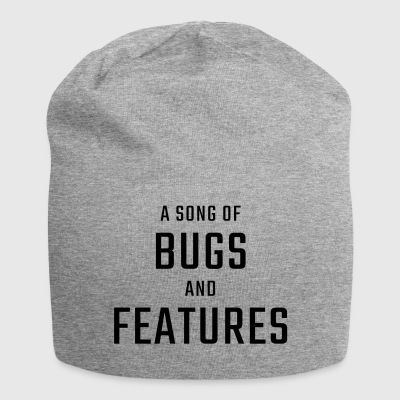 A Song of Bugs and Features - Jersey Beanie