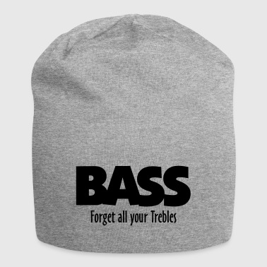 BASS forget all your Trebles - Jersey Beanie