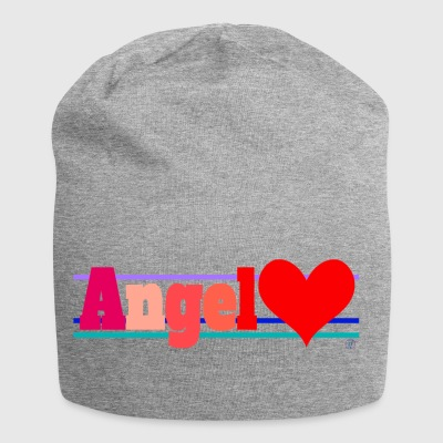 Angel and heart - Jersey Beanie