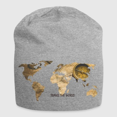 WORLD MAP - Jersey-Beanie