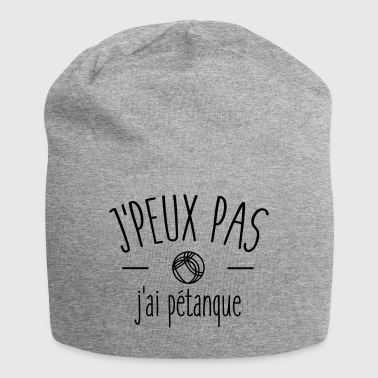 I can not I petanque - Jersey Beanie