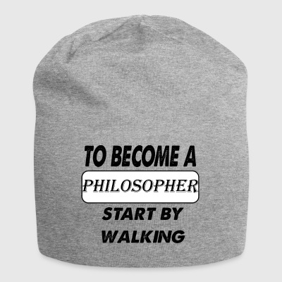to become a philosopher - Jersey Beanie