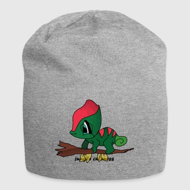 jungle cuteness - Jersey Beanie