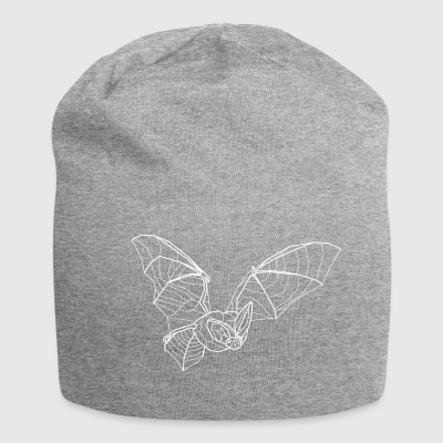 Long-eared bat bianco - Beanie in jersey