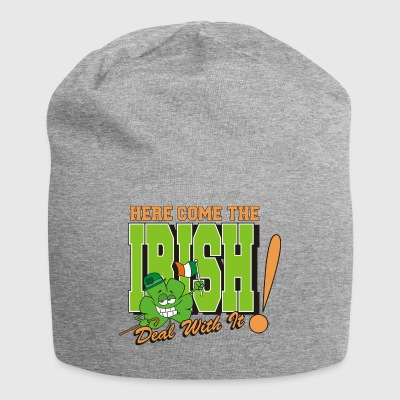 Irish Here Come The Irish Funny - Jersey Beanie
