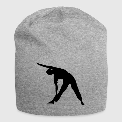 Yoga exercise - Jersey Beanie