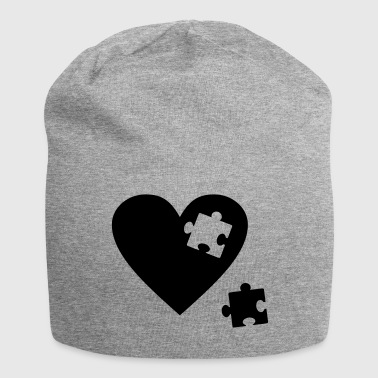 cuore Puzzle - Beanie in jersey