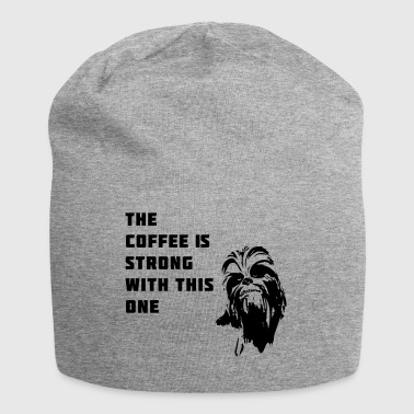 coffee chewbacca strong dark dark side - Jersey Beanie