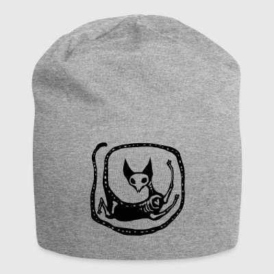 Skeleton Cat - Jersey Beanie