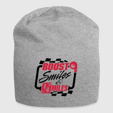 Boost Smiles & Quarter Miles - Jersey Beanie