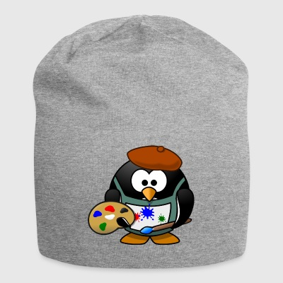 Penguin pittore - Beanie in jersey