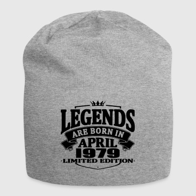 Legends are born in april 1979 - Jersey Beanie