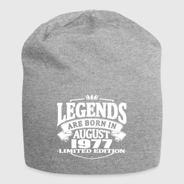 Legends are born in august 1977 - Jersey Beanie