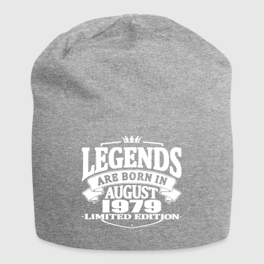 Legends are born in august 1979 - Jersey Beanie