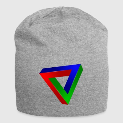 Impossible triangle - Jersey Beanie