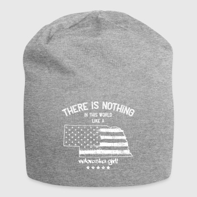 USA: Nothing In Like A Nebraska State Girl Gift - Jersey Beanie