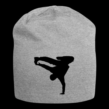 Breakdancer silhouette - Jersey Beanie