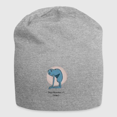 Yoga Monster # 1 - Camel - Beanie in jersey