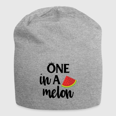 One in a melon - black - Jersey Beanie