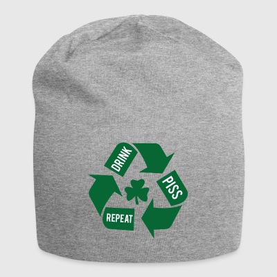 Ireland / St. Patrick's Day: Drink - Piss - Repeat - Jersey Beanie