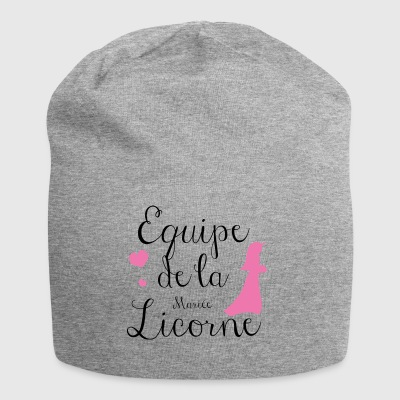 Unicorn bride team - Jersey Beanie