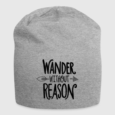 wander without reason - Jersey Beanie