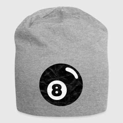Billiards billiard ball black eight eight - Jersey Beanie