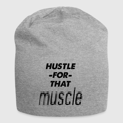 hustle for den muskelen - Jersey-beanie