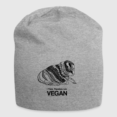 I think therefore I am VEGAN - Jersey-Beanie