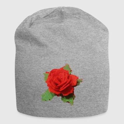 rosa - Beanie in jersey