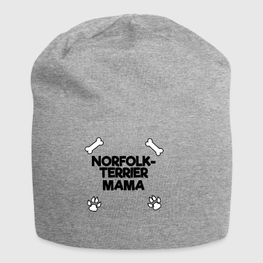 norfolk terrier mama black - Jersey-Beanie
