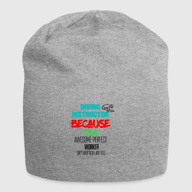 Diving instructor - Jersey Beanie