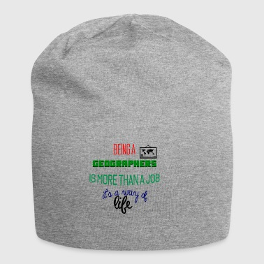 Being a geographer is more than a job - Jersey Beanie
