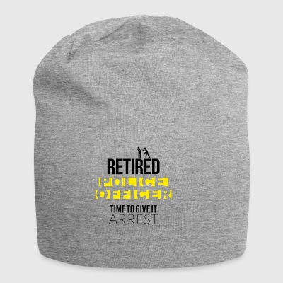 Retired police officer - Jersey Beanie