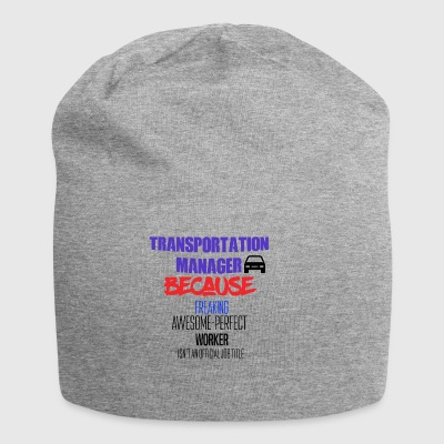 Transport manager - Jersey-Beanie