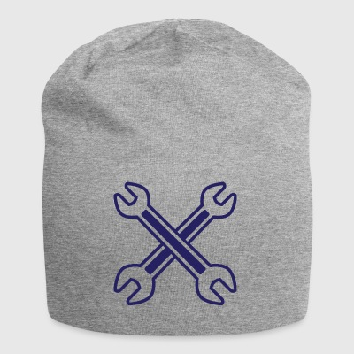 Crossed Wrench - Jersey Beanie