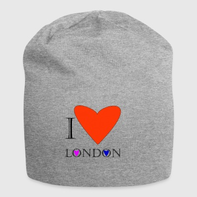 I Love London 1A - Jersey Beanie