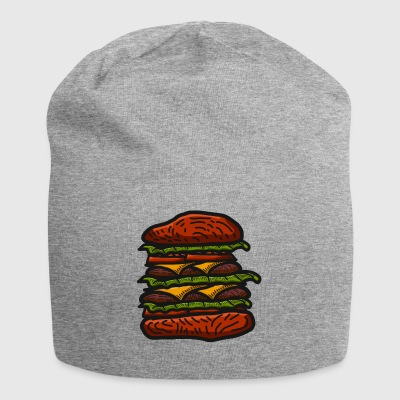 hamburger - Beanie in jersey