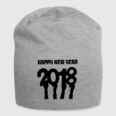 Nouvel An 2018 - Bonnet en jersey
