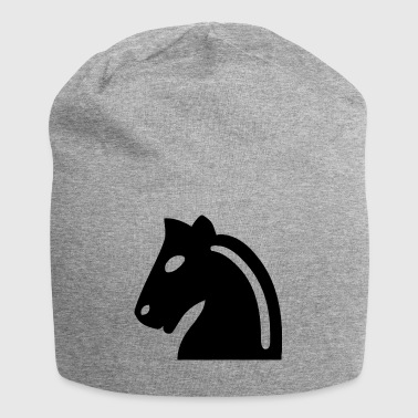 Scacchi Horse - Beanie in jersey