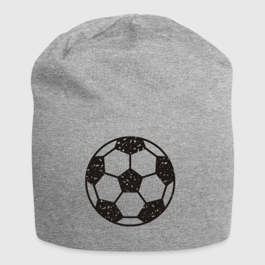 Football vintage black - Jersey Beanie