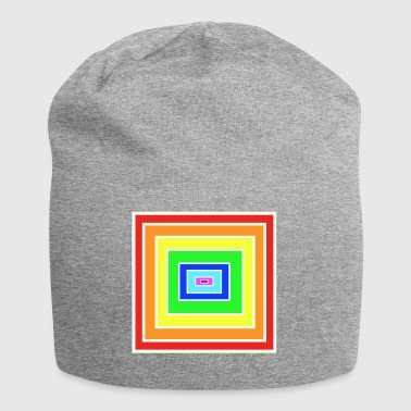 Rainbow Matrix - Jersey-beanie