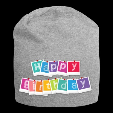 Happy birthday Happy birthday - Jersey-Beanie