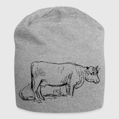 cow kuh rind beef bulle bull bovine - Jersey-Beanie