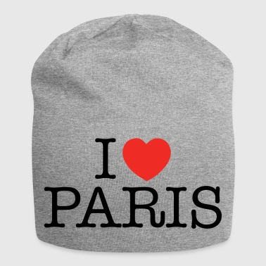 I Love Paris - Jersey-beanie