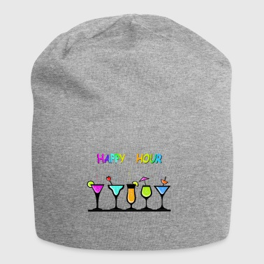happy_hour - Beanie in jersey
