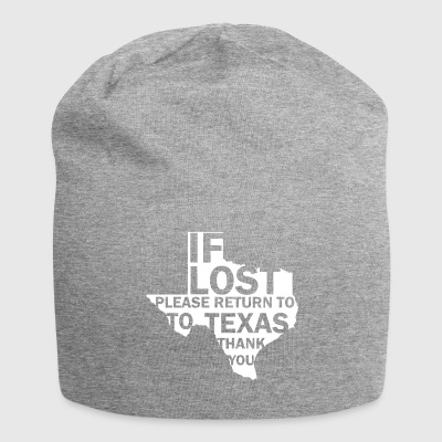If dissolves Texas - Jersey Beanie