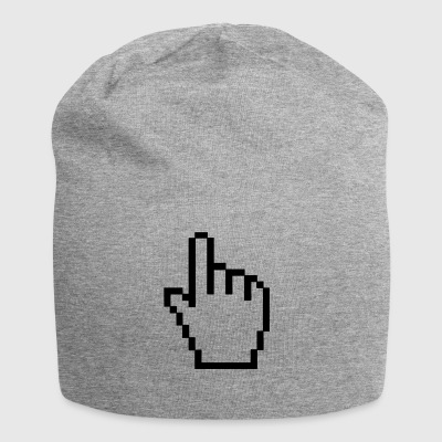mano del computer - Beanie in jersey